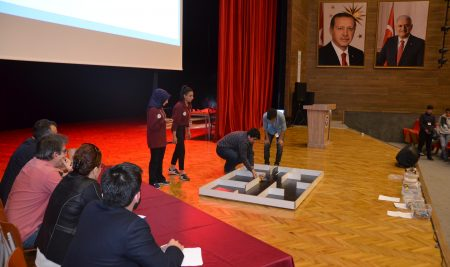 Erzincan University Robot Competition Has Completed