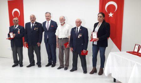 Rektörümüz  Erzincanlı KKTC Milli Mücadele Madalya Tevcih Törenine Katıldı