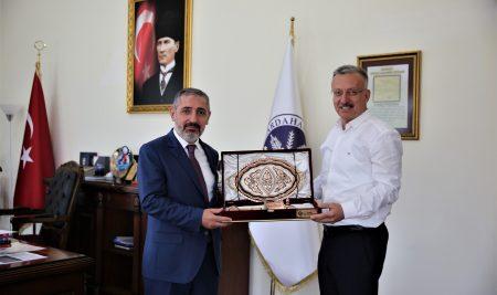 Rektörümüzden Ardahan Üniversitesi Rektörüne Ziyaret