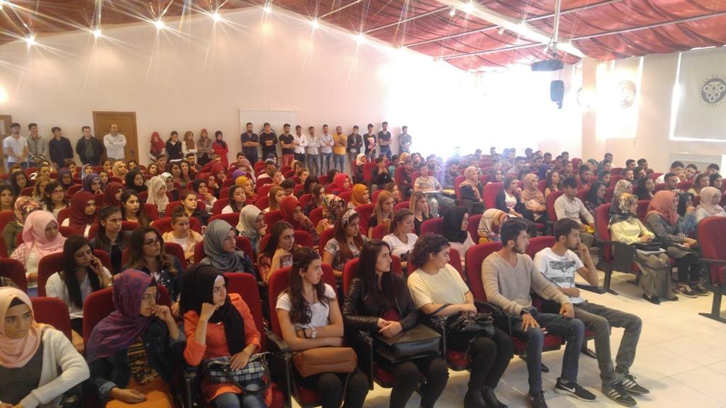 Kemah MYO'da Oryantasyon Eğitimi