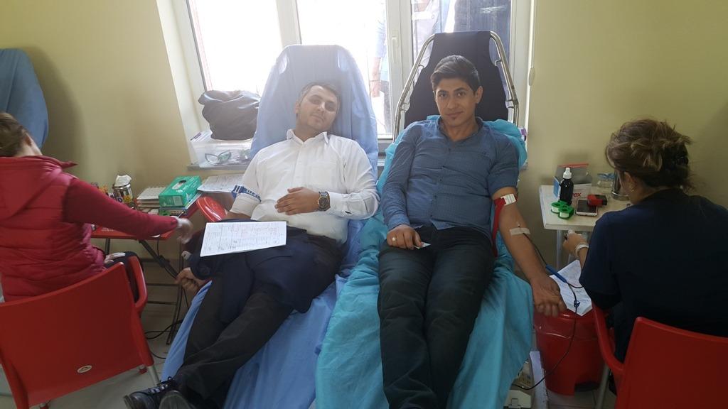 Kemah MYO'dan Kan Bağışı