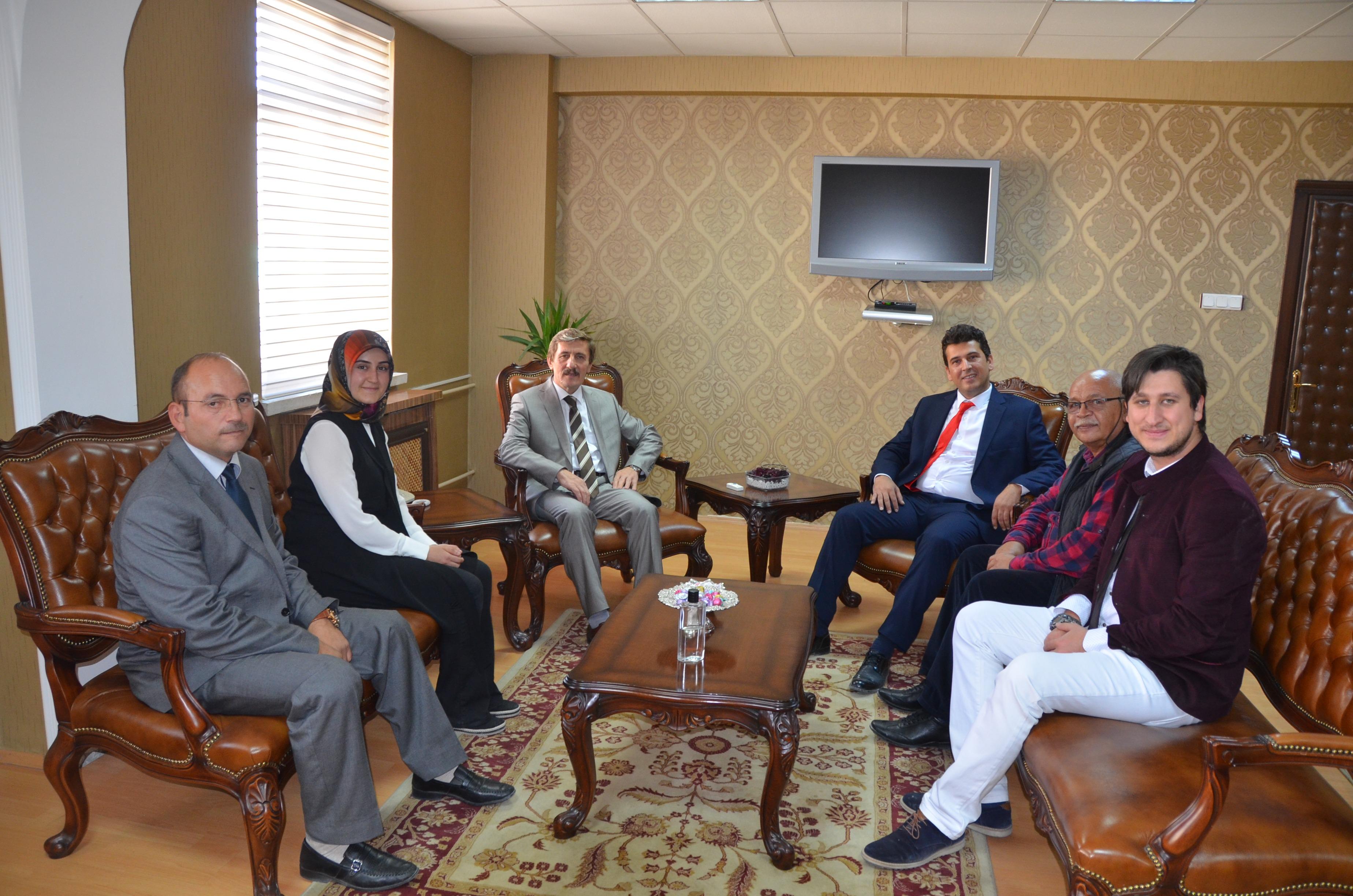 Türkiye Sağırlar Konfederasyonundan Rektörümüze Ziyaret