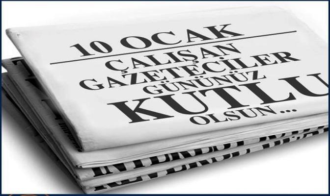 """Rektörümüzün """"10 Ocak Çalışan Gazeteciler Günü""""  Mesajı"""