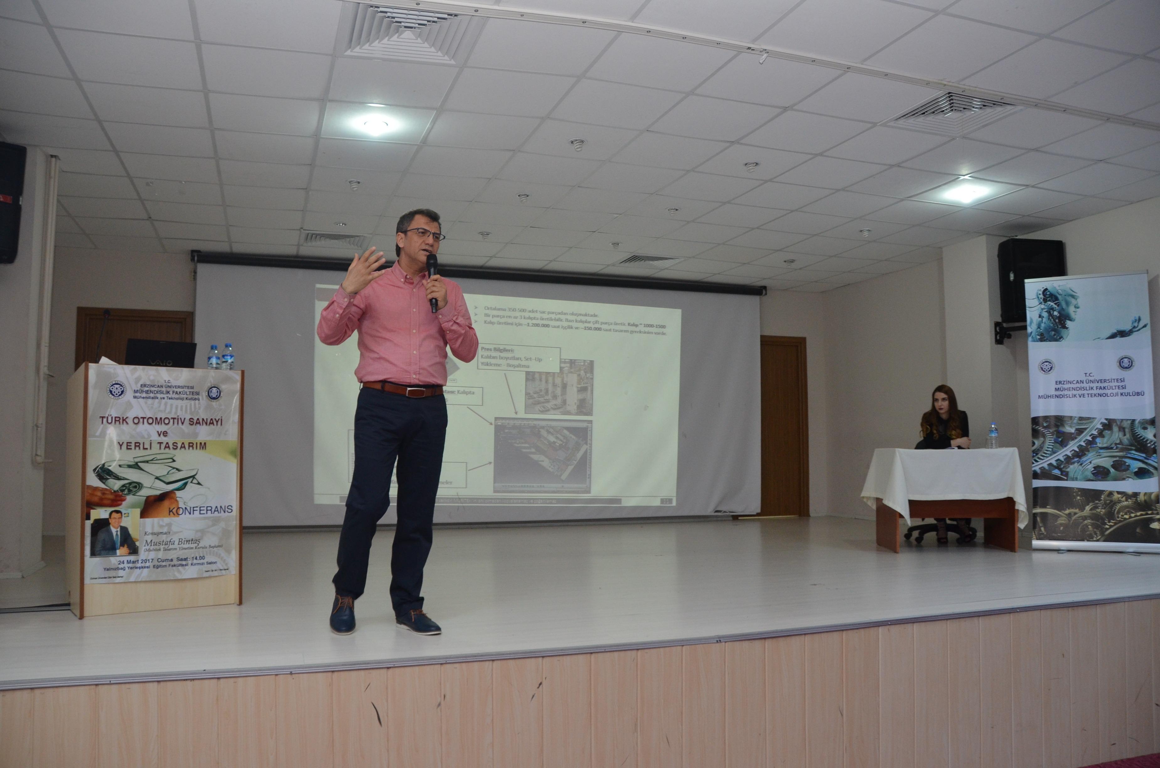 """""""Türk Otomotiv Sanayi ve Yerli Tasarım"""" Konferansı"""