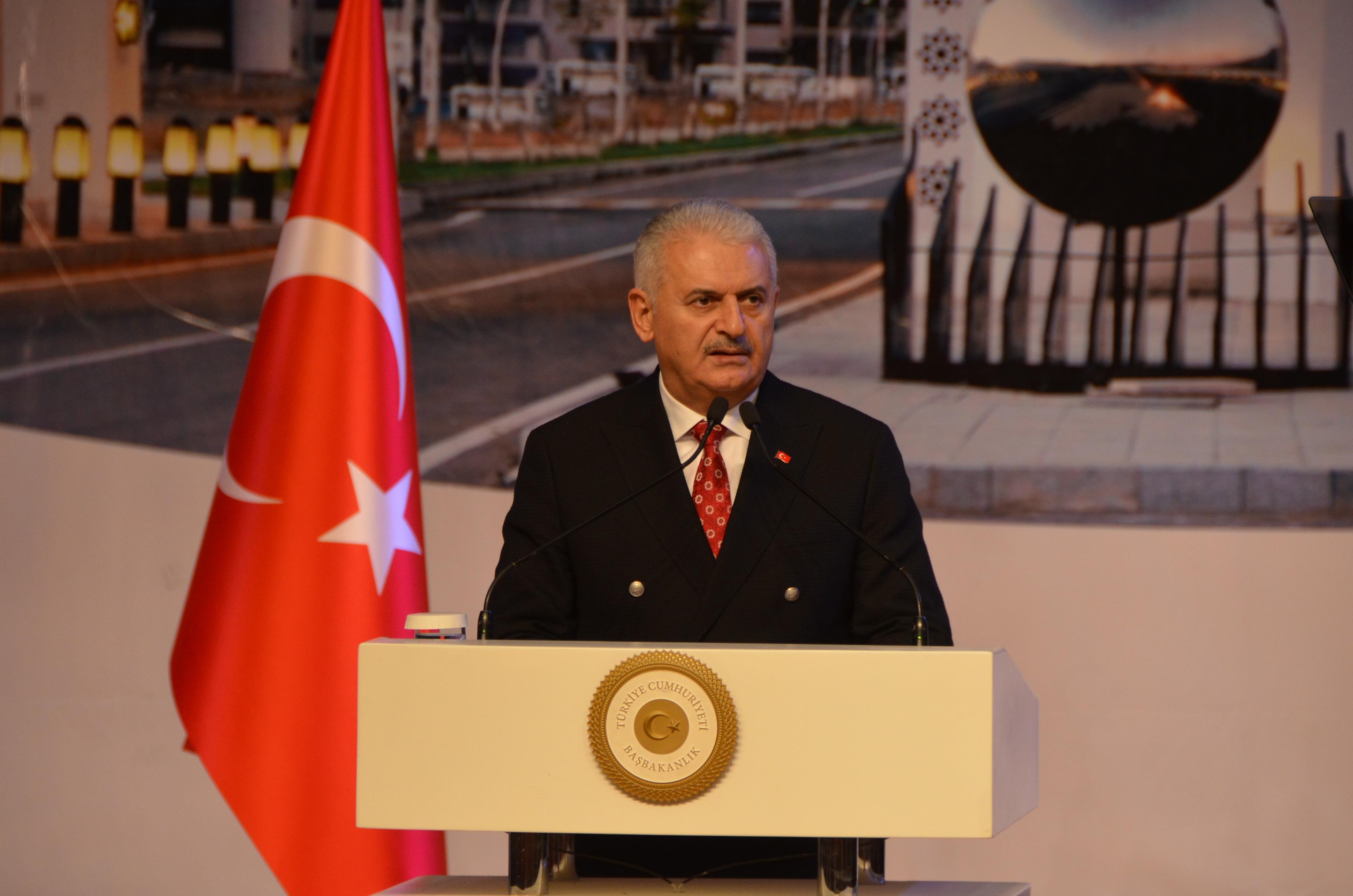 Prime Minister Mr. Binali YILDIRIM is at Erzincan University