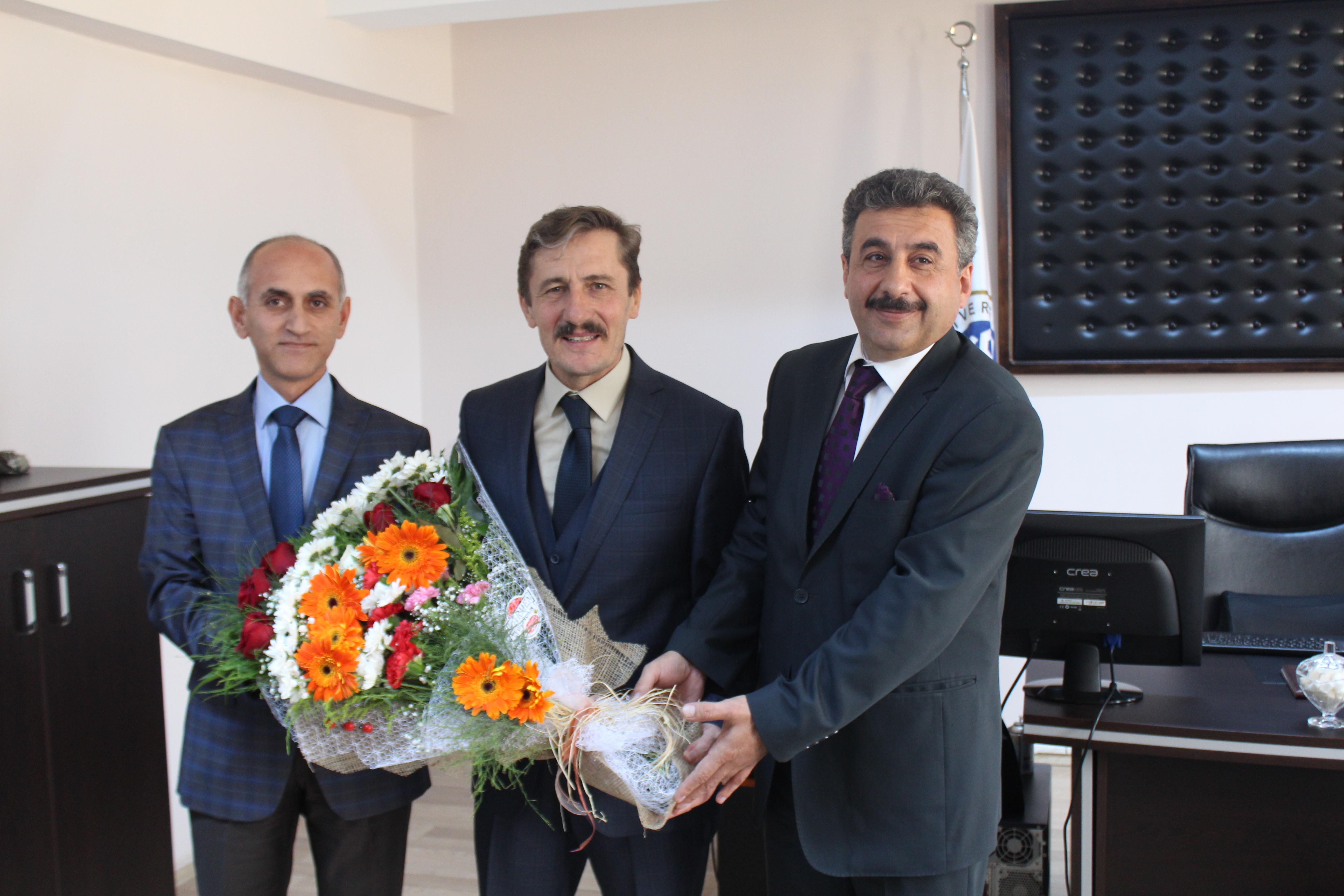 Handover Ceremony at Tercan Vocational High School