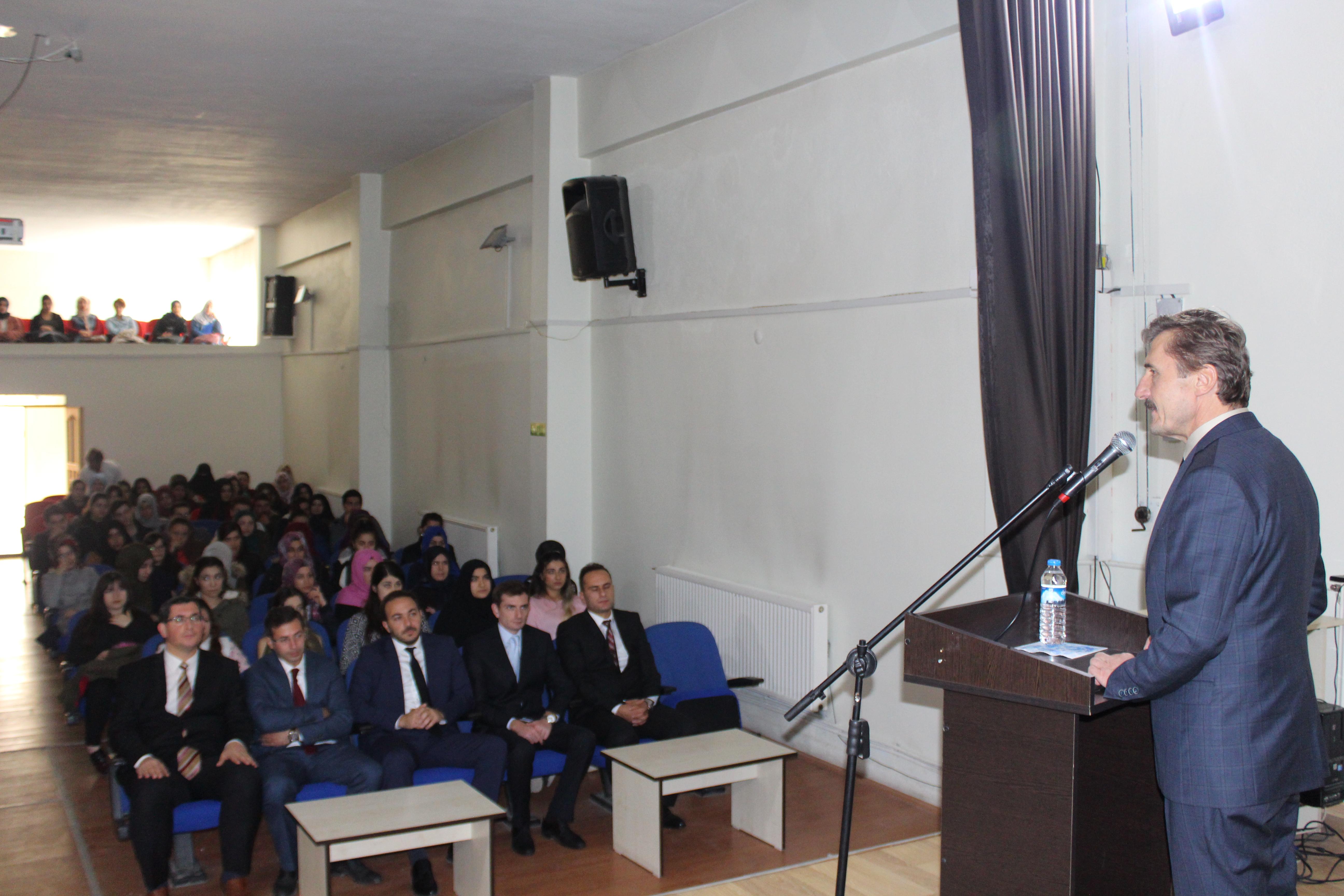 Our Rector has visited Çayırlı Vocational High School