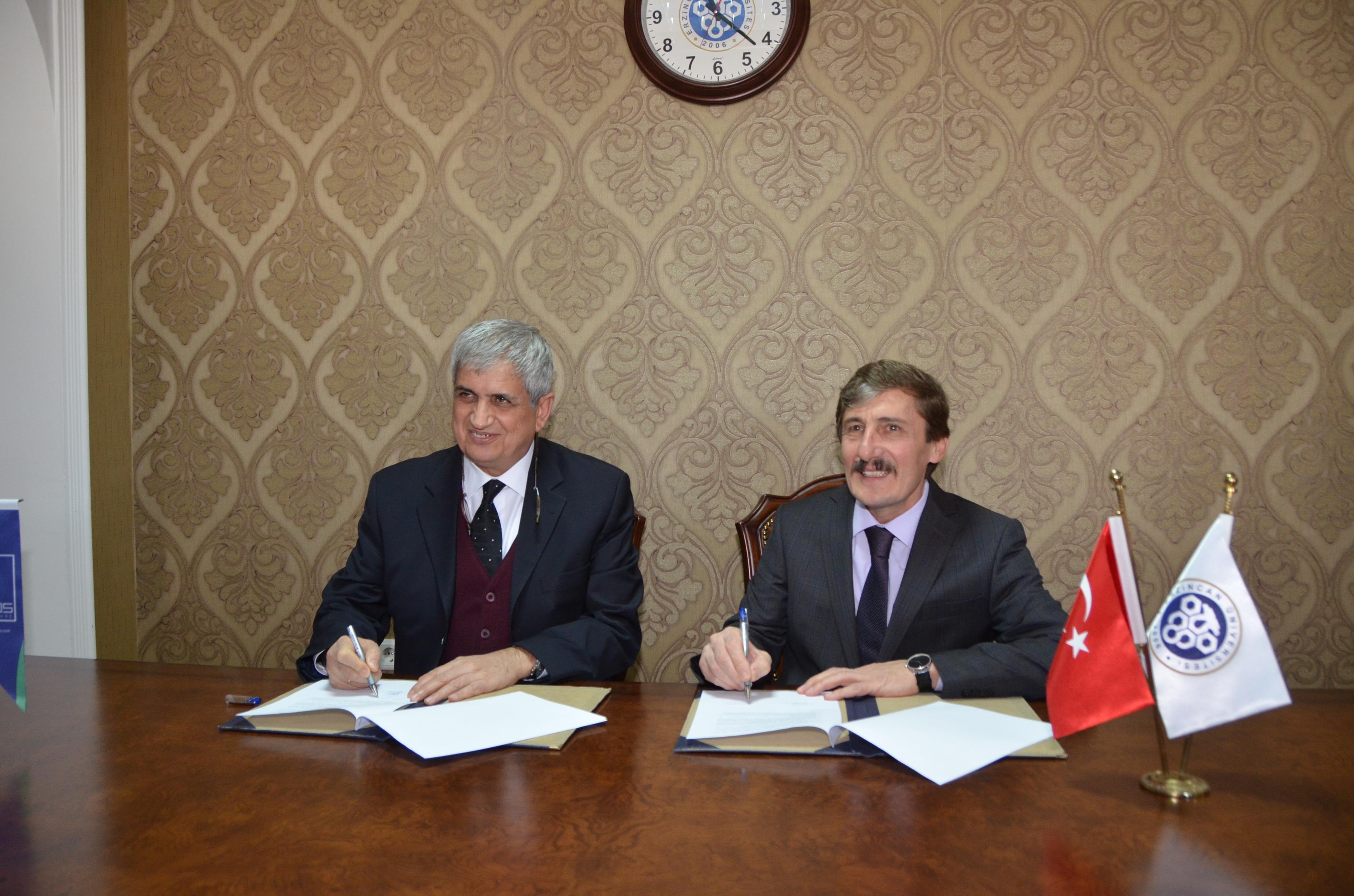 Üniversitemiz ve Aras EDAŞ Arasında İşbirliği Protokolü İmzalandı