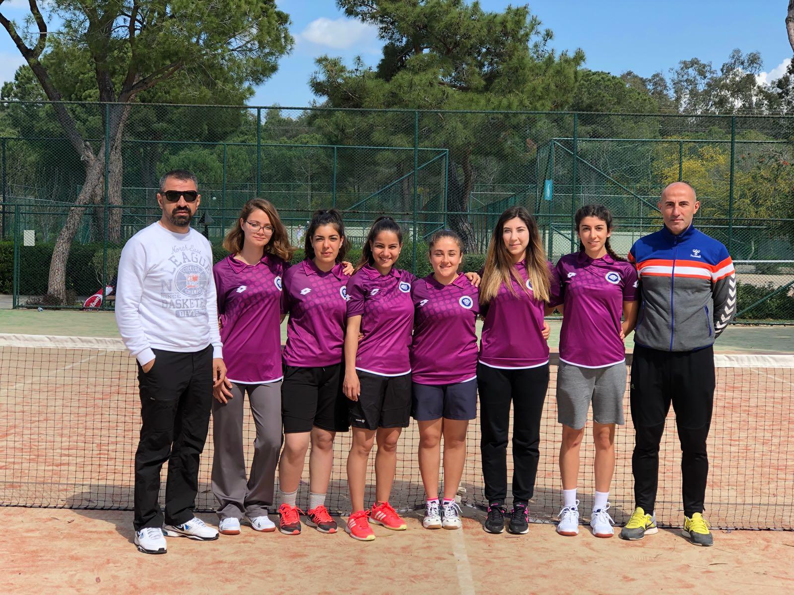 Bayan Tenis Takımımız Süper Lig Yolunda
