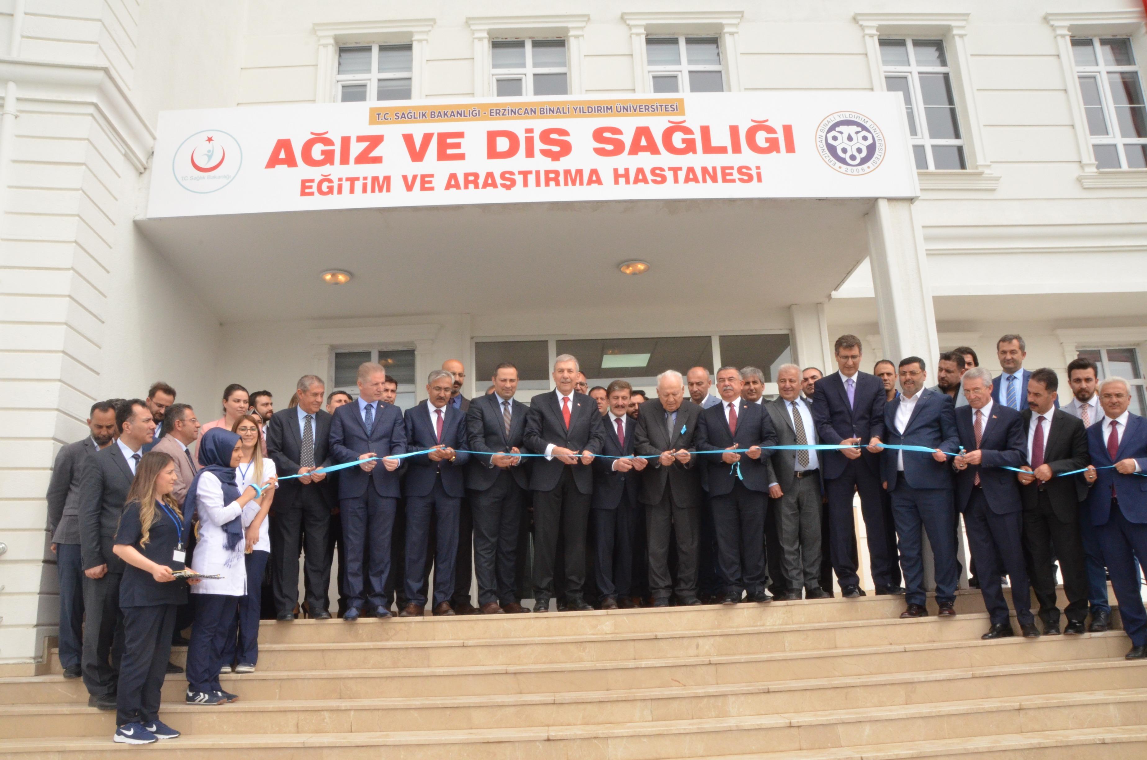 Ağız ve Diş Sağlığı Eğitim ve Araştırma Hastanesinin Açılışı Yapıldı