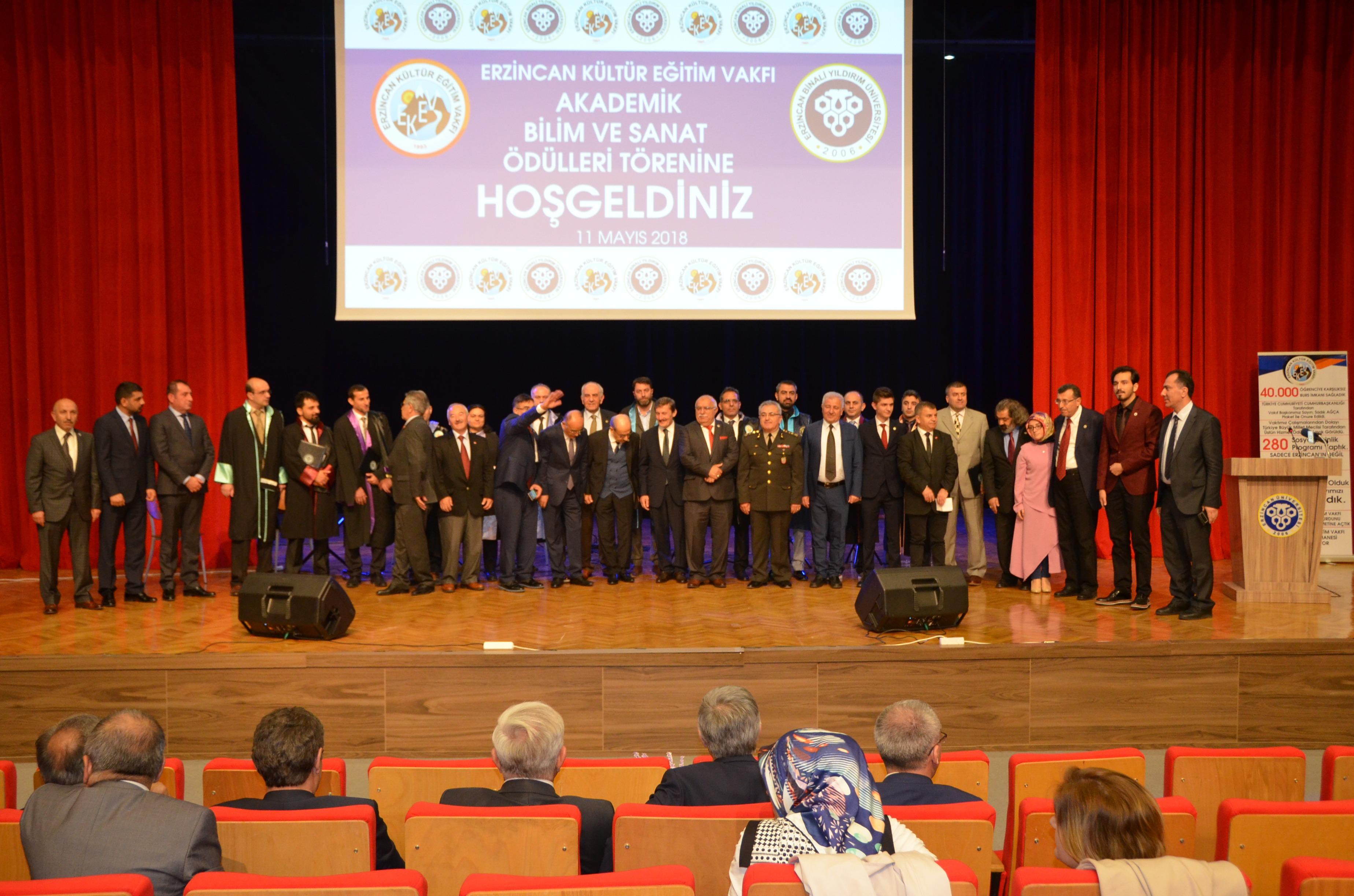 EKEV Akademik Bilim ve Sanat Ödülleri Töreni