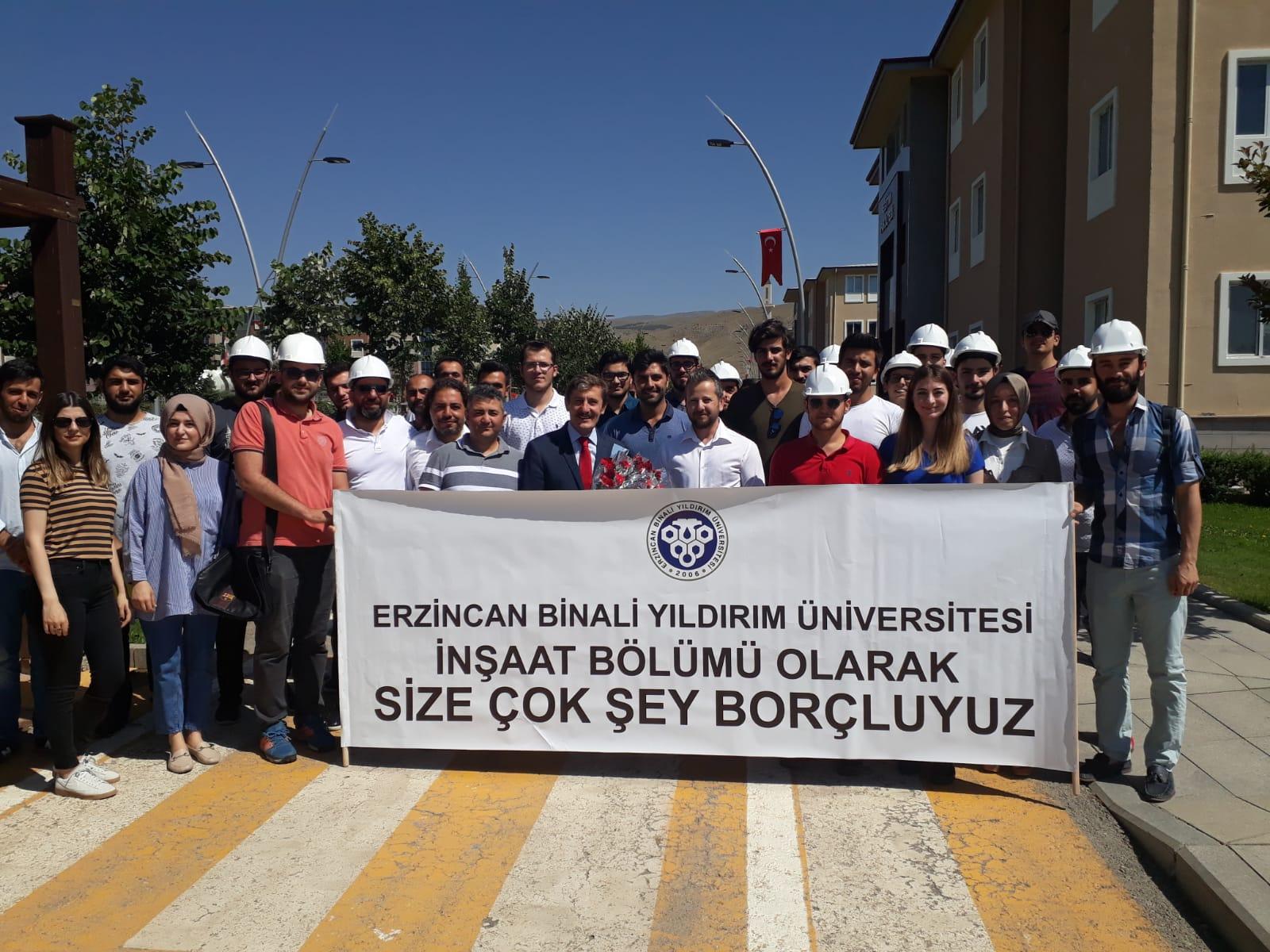 Rektör Prof. Dr. Çapoğlu Veda Ziyaretlerinde