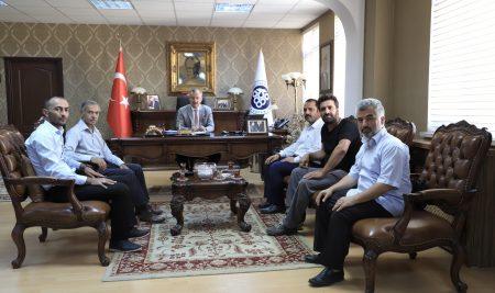 Erzincan Sivil Toplum Platformundan Rektörümüze Ziyaret