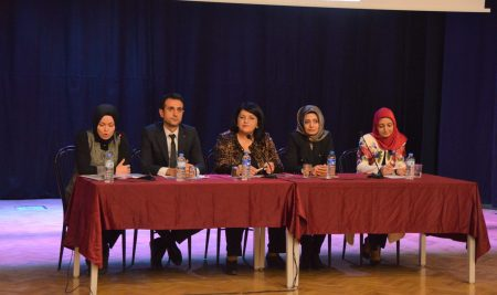 """""""25 Kasım Kadına Yönelik Şiddete Karşı Uluslararası Mücadele Günü"""" Paneli"""