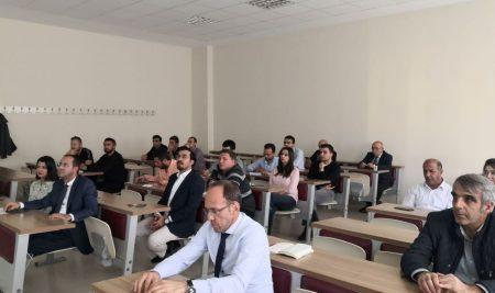 TÜBİTAK ARDEB Proje Seminerlerinin Üçüncüsü Yapıldı