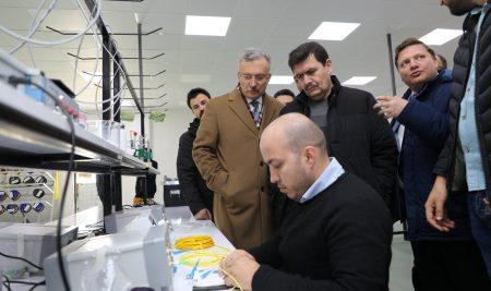 Üniversite -Sanayi İşbirliği Faaliyetleri Devam Ediyor