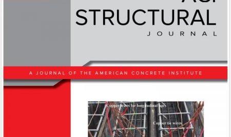 Üniversitemiz İnşaat Mühendisliği Bölümünün Yapmış Olduğu Deneysel Çalışma, Amerikan Beton Enstitüsü Dergisine Kapak Oldu