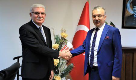 Üniversitemiz Rektör Yardımcılığı Görevine  Prof. Dr. A. Ercan Ekinci Atandı