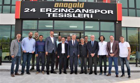 Rektörümüzden  Anagold 24Erzincanspora Ziyaret