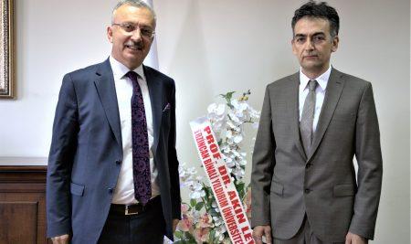 Üniversitemiz Rektör Yardımcılığı Görevine Prof. Dr. M. Fatih Ertugay Atandı