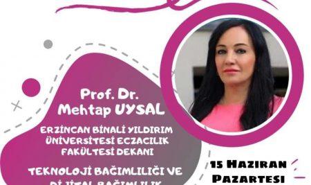 Genç Yeşilay Kulübü  Canlı Yayın Sohbetleri Etkinliklerinde Prof. Dr. Mehtap Uysal ile  Bir Araya  Geldi