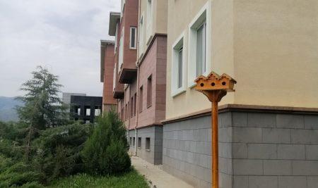 Yalnızbağ Yerleşkesine Kuş Evleri Konuldu