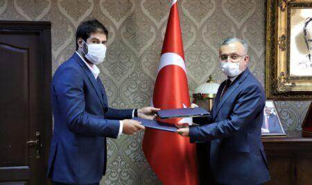 Erzincan Bc Fiber Optik San. ve Tic.A.Ş İle İş Birliği Protokolü İmzaladı