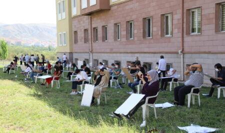 Güzel Sanatlar Fakültesi Özel Yetenek Sınavı Yapıldı