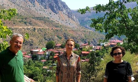 Erzincan Binali Yıldırım Üniversitesi Rektörü Prof. Dr. Akın Levent ve Dokuz Eylül Üniversitesi Rektörü Prof. Dr. Nükhet Hotar'dan İşbirliği Görüşmesi
