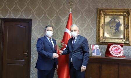 Erzincan İl Müftüsü Burhan Çakır'dan Rektörümüze Ziyaret