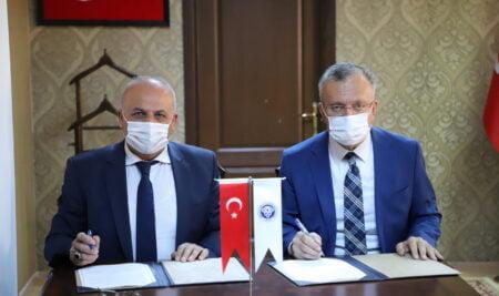 Üniversite Kampüs Alanının Ağaçlandırılmasına İlişkin İşbirliği Protokolü İmzalandı
