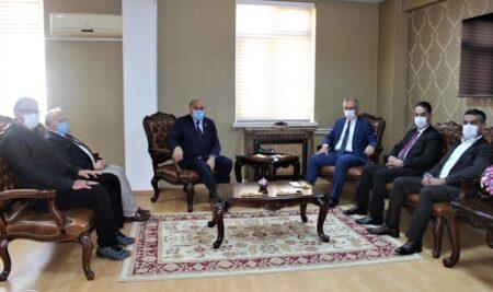 Erzincan Milletvekilimiz ve Ak Parti İl Başkanlığından Rektörümüze Ziyaret
